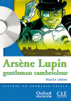 Arsène Lupin Gentleman Cambrioleur. Pack (lecture + Cd-audio)