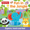 Fisher Price Fun In The Jungle Touch And Feel Ingles