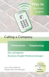 Way To Business English - Calling A Company - Telefonieren - Telephoning