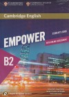 Cambridge English Empower For Spanish Speakers B2 Student's Book With Online Assessment And Practice And Workbook
