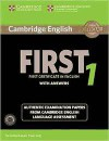 Cambridge English First 1 For Revised Exam From 2015 : Student's Book Pack