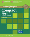 Compact First Teacher's Book 2nd Edition