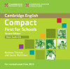 Compact First For Schools Class Audio Cd 2nd Edition