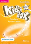 Kid's Box American English Starter Teacher's Resource Book With Online Audio 2nd Edition