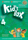 Kid's Box English For Spanish Speakers, Level 4. Teacher's Resource Book With Audio Cds (2)