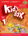 Kid's Box Level 1 Pupil's Book With My Home Booklet Updated English For Spanish Speakers 2nd Edition