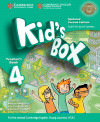 Kid's Box Level 4 Teacher's Book Updated English For Spanish Speakers 2nd Edition