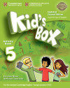 Kid's Box Level 5 Activity Book With Cd Rom And My Home Booklet Updated English For Spanish Speakers 2nd Edition
