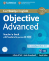 Objective Advanced Teacher's Book With Teacher's Resources Cd-rom 4th Edition
