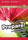 Prepare! 5. Teacher's Book With Dvd And Teacher's Resources Online