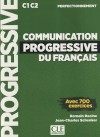 Communication Progressive Niveau Perfectionnement . Avec 1 Cd Audio Mp3