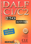 Dalf C1/c2: 250 Activities. Booklet And Mp3