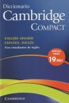 Diccionario Cambridge Compact. English-spanish/español-inglés + Cd-rom