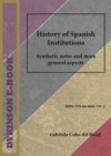 History Of Spanish Institutions. Synthetic Notes And Main General Aspects (ebook)