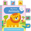 My First Animals Cloth Book Ingles