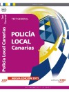 Policía Local De Canarias. Test General