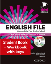English File 3rd Edition Intermediate Plus Student's Book + Workbook With Key Pack