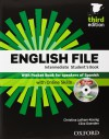 English File Intermediate. Student's Book + Workbook With Key