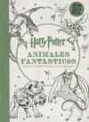 Harry Potter. Animales Fantásticos Y Dónde Encontrarlos: Mini Libro Para Colorear