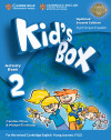 Kid's Box Level 2. Activity Book With Cd-rom Updated English For Spanish Speakers