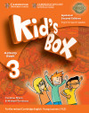 Kid's Box Level 3. Activity Book With Cd Rom And My Home Booklet Updated English For Spanish Speakers