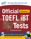Official Toefl Ibt Tests, Volume 1