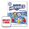 Heroes 2 Pupil's Book (srp&ppk&ebook) Pack