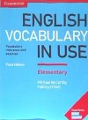 New English Vocabulary In Use Elementary