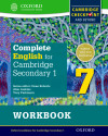 Complete English For Cambridge Secondary 1. Workbook 7