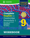 Complete English For Cambridge Secondary 1. Workbook 9