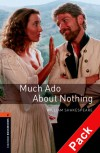 Oxford Bookworms Stage 2: Much Ado About Nothing Cd Pack Ed 08