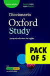 Pack 5 Dictionary Oxford Study Interact Cd-rom