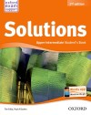 Solutions 2nd Edition Upper-intermediate. Student's Book