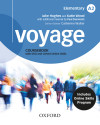 Voyage A2. Student's Book + Workbook+ Oxford Online Skills Program A2 (bundle 1) Pack Without Key
