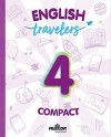 Travelers Red 4 - English Language 4 Primaria - Student Book Compact