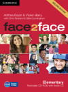 Face2face Elementary Testmaker Cd-rom And Audio Cd 2nd Edition